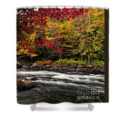 Ontario Autumn Scenery Shower Curtain