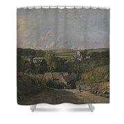 Osmington Village Shower Curtain