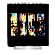 4 Panels Of Seville Abstract Shower Curtain
