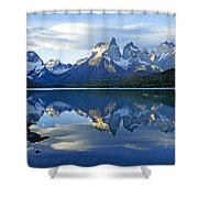 Patagonia Reflection Shower Curtain