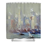 Pennell, New York City.  Shower Curtain