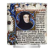 Petrarch (1304-1374) Shower Curtain