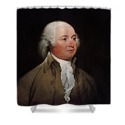 President John Adams Shower Curtain by War Is Hell Store