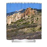 Red Rock Canyon Open Space Park Shower Curtain