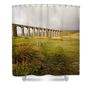 Ribblehead Viaduct Shower Curtain