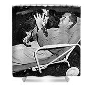 Richard Nixon (1913-1994) Shower Curtain
