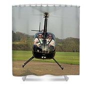 Robinson R22 Beta Shower Curtain