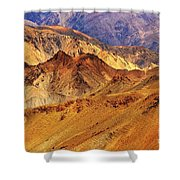 Rocks And Stones Mountains Ladakh Landscape Leh Jammu Kashmir India Shower Curtain