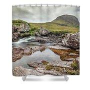 Russell Burn - Scotland Shower Curtain