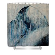 Sacred Mountains Shower Curtain