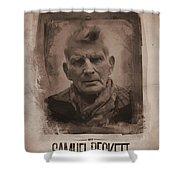 Samuel Beckett 02 Shower Curtain