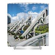 San Diego Convention Center  Shower Curtain