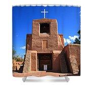 Santa Fe - San Miguel Chapel Shower Curtain