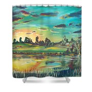 Secret Place Shower Curtain