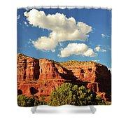 Sedona Red Rocks Shower Curtain