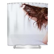 Seductress Imirage Magazine Canada Shower Curtain