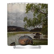 Shore Landscape Shower Curtain