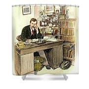 Sir Arthur Conan Doyle Shower Curtain