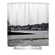 South Terrace Shower Curtain