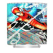 Spider-man Shower Curtain