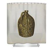 Stoneware Jug Shower Curtain