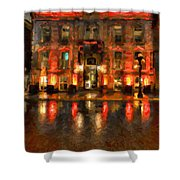 Street Reflections Shower Curtain