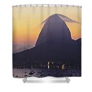 Sugarloaf Mountain, Rio De Janeiro, Brazil Shower Curtain