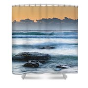 Sunrise By The Sea Shower Curtain
