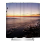 Sunset At Basanija Shower Curtain