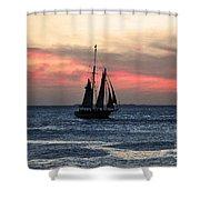 Sunset Key West  Shower Curtain