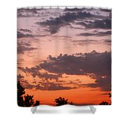 Sunset Moreno Valley Ca Shower Curtain