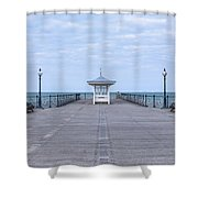 Swanage - England Shower Curtain