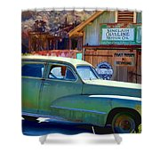 Techatticup Mine Ghost Town Nv Shower Curtain