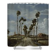 The Avenue At Middelharnis Shower Curtain