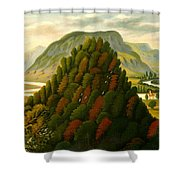 The Connecticut Valley Shower Curtain
