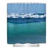 The Blue Sea Shower Curtain