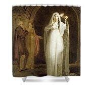 The Sleepwalking Scene Act V Scene I From Macbeth Henry Pierce Bone Shower Curtain