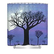 Tree Love Shower Curtain