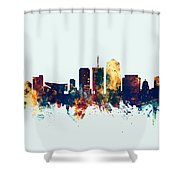 Tucson Arizona Skyline Shower Curtain