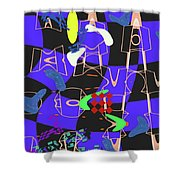 4 U 351 Shower Curtain