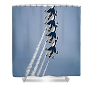 4 Up Shower Curtain