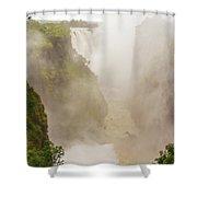 Victoria Falls In Zambia Shower Curtain