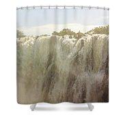 Victoria Falls In Zimbabwe Shower Curtain