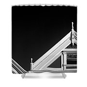 Victorian Style Homes  Shower Curtain