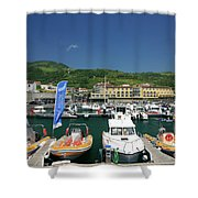 Vila Franca Do Campo Shower Curtain