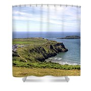 Wales Uk Shower Curtain
