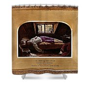 Wallis Henry The Death Of Chatterton2 Henry Wallis Shower Curtain