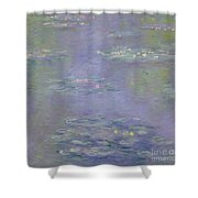 Waterlilies Shower Curtain