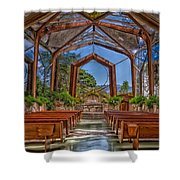 Wayfarers Chapel Shower Curtain