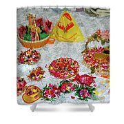 Wedding Party Shower Curtain